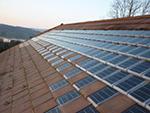 La tuile photovoltaïqueà La Laigne