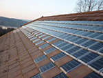 La tuile photovoltaïqueà Olmo